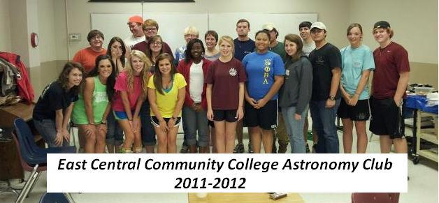 east central community college astronomy club photo