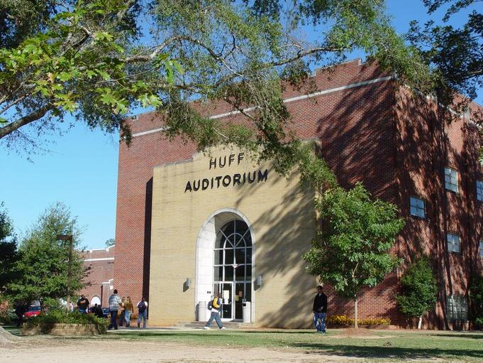 east central community college huff auditorium