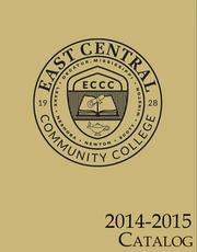 East Central Community college 2014-2015 catalog
