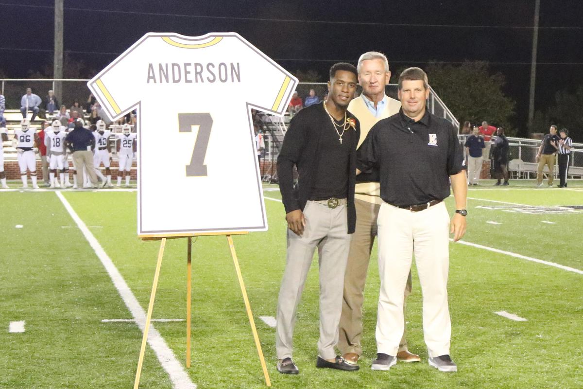 various colors b048f 8433f ECCC Retires Tim Anderson's Jersey | East Central Community ...