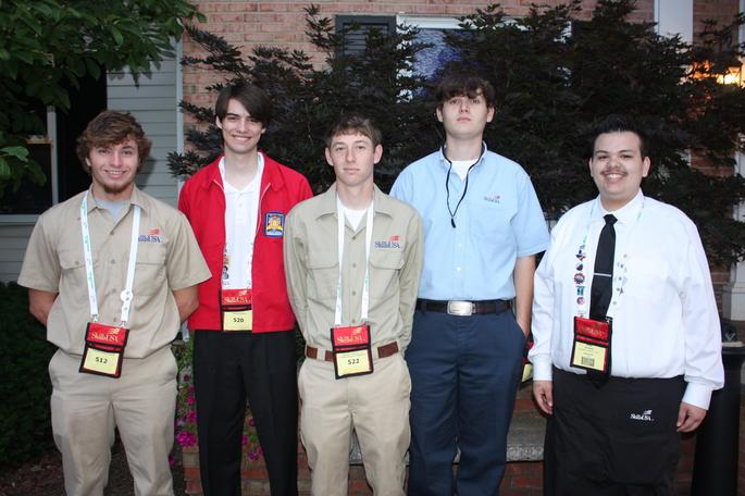 ECCC SkillsUSA Participants Win National Honors